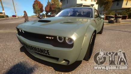 Dodge Challenger Liberty Walk 15 for GTA 4