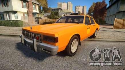 Declasse Classic Taxicar for GTA 4