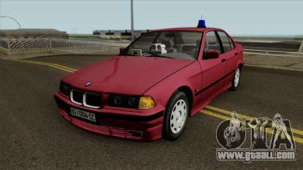 BMW 320i e36 Civil Police for GTA San Andreas