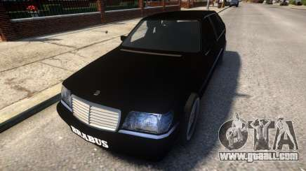 Mercedes Benz W140 Brabus for GTA 4