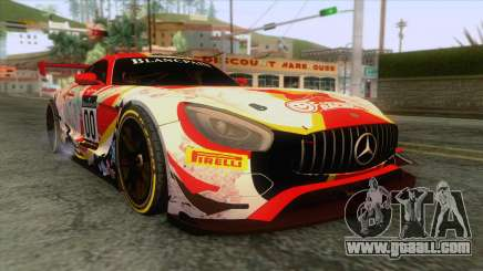 Mercedes-Benz AMG GT3 for GTA San Andreas