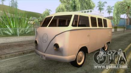 Volkswagen Microbus 1953 for GTA San Andreas