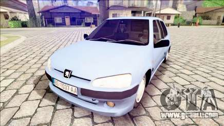 Peugeot 106 Stock for GTA San Andreas