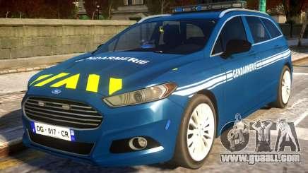 Ford CMax 2013 Gendarmerie Nationale for GTA 4