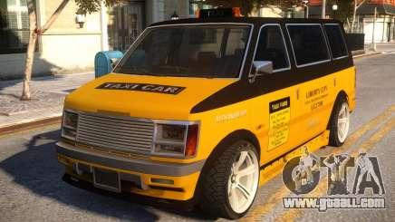 Moonbeam Taxi LC 2708 for GTA 4