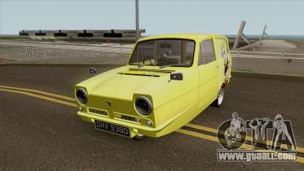 Reliant Robin Supervan III - Spongebob version for GTA San Andreas