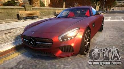 Mercedes-Benz AMG GT3 2016 Baku Version for GTA 4