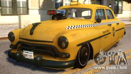 Quicksilver Windsor Taxi for GTA 4