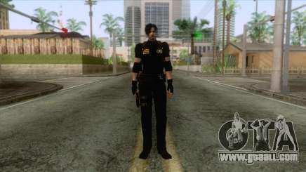 Leon Intel Cop Skin 1 for GTA San Andreas