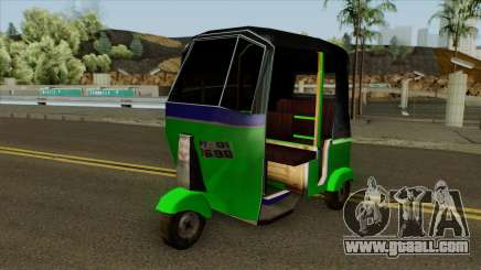 Indian Tuk Tuk Rickshaw (Indian Auto) for GTA San Andreas