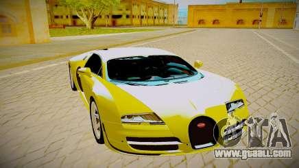 Bugatti Veyron for GTA San Andreas
