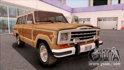 Jeep Grand Wagoneer 1991 for GTA San Andreas