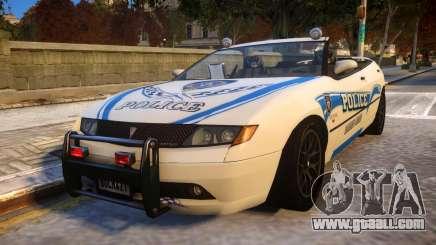 COP CAR DFF8 V.5 SX for GTA 4