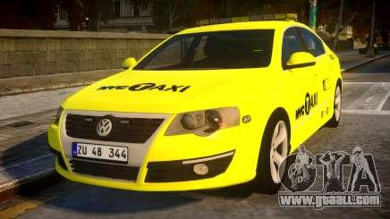Volkswagen Passat B6 Sedan - NYC TAXI for GTA 4