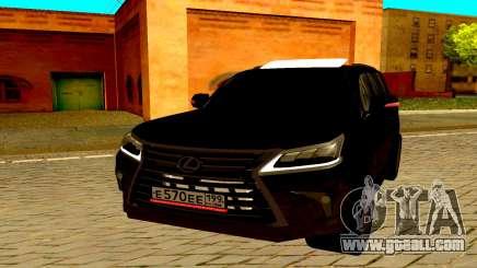 Lexus LX570 2016 for GTA San Andreas