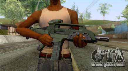 XM8 Compact Rifle Green for GTA San Andreas