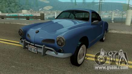 Volkswagen Karmann-Ghia Coupe 1967 for GTA San Andreas