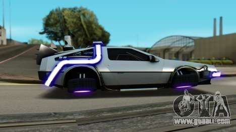 DeLorean DMC-12 Activated for GTA San Andreas