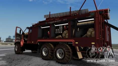 Ural Next Firetruck for GTA San Andreas