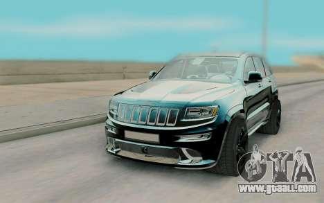 Jeep Grand Cherokee SRT8 for GTA San Andreas