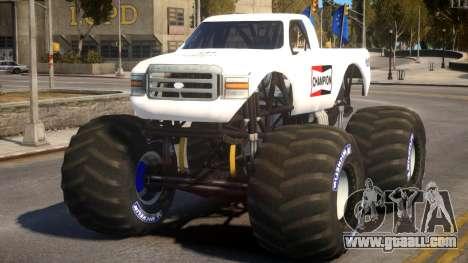 Monster Truck V.1 for GTA 4
