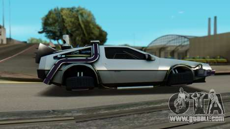 DeLorean DMC-12 Activated for GTA San Andreas