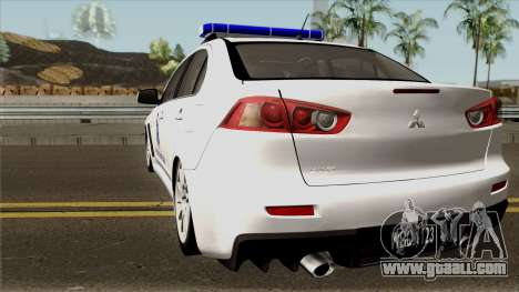 Mitsubishi Lancer Evolution X Malaysia Auxiliary for GTA San Andreas