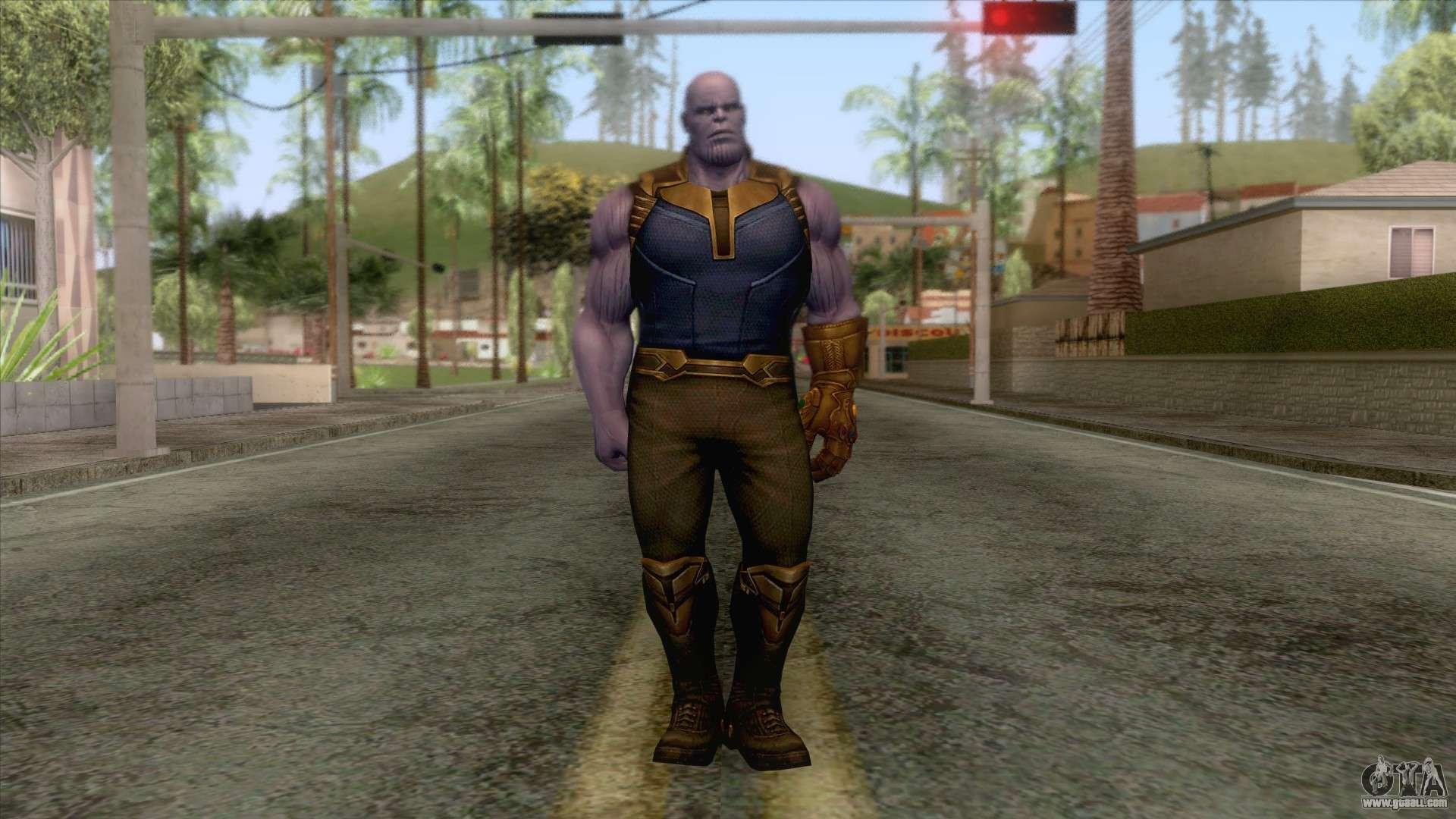Marvel Future Fight - Thanos (Infinity War) for GTA San Andreas