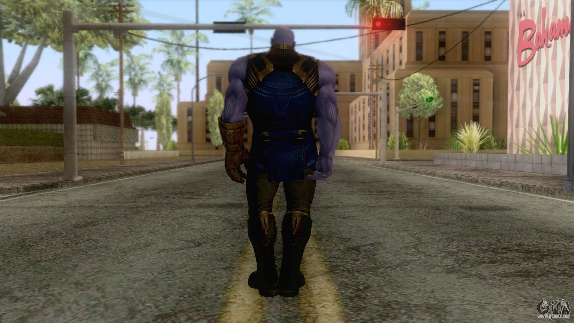 Marvel Future Fight - Thanos (Infinity War) for GTA San Andreas