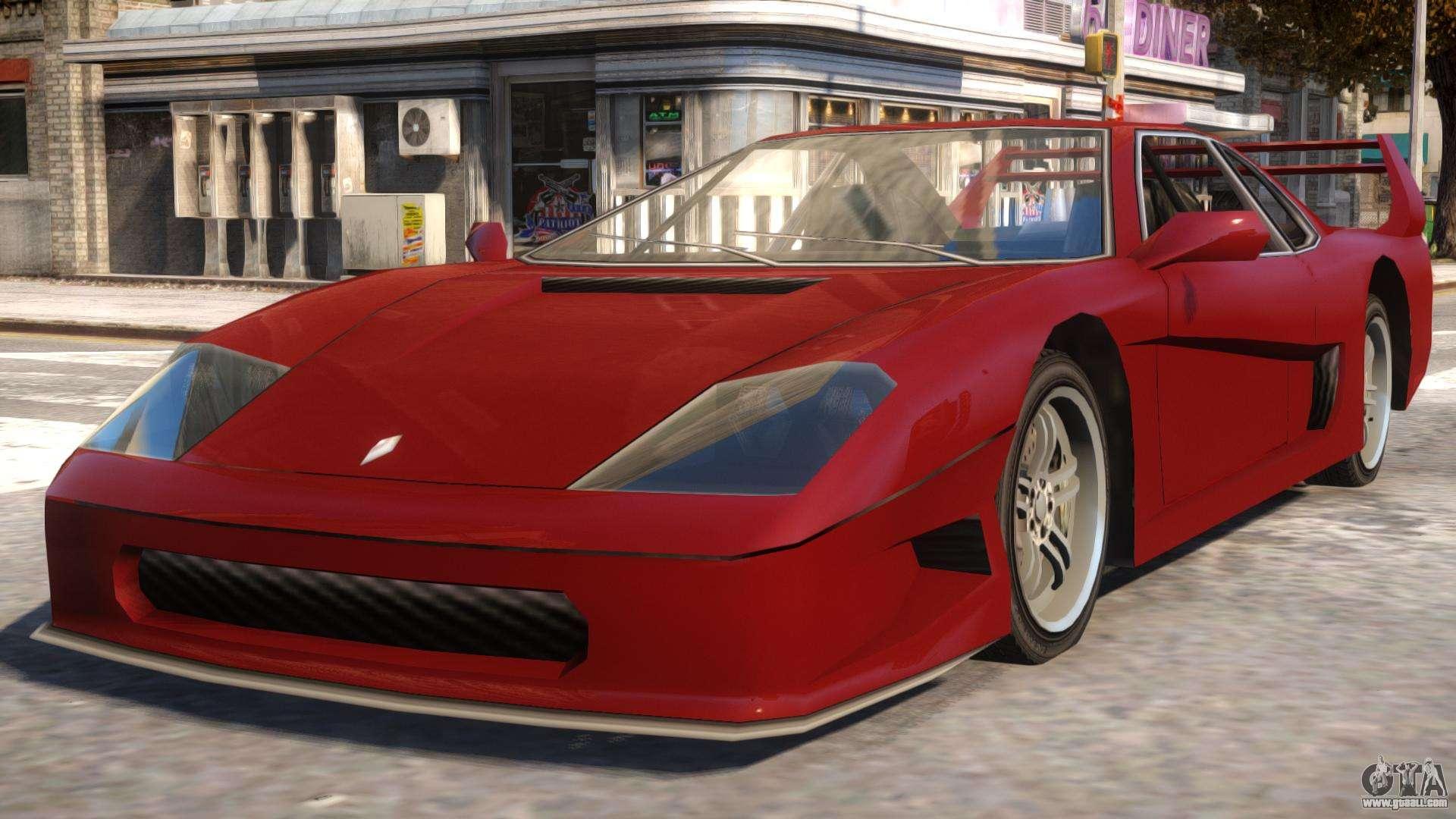 GTA SA Turismo for GTA 4
