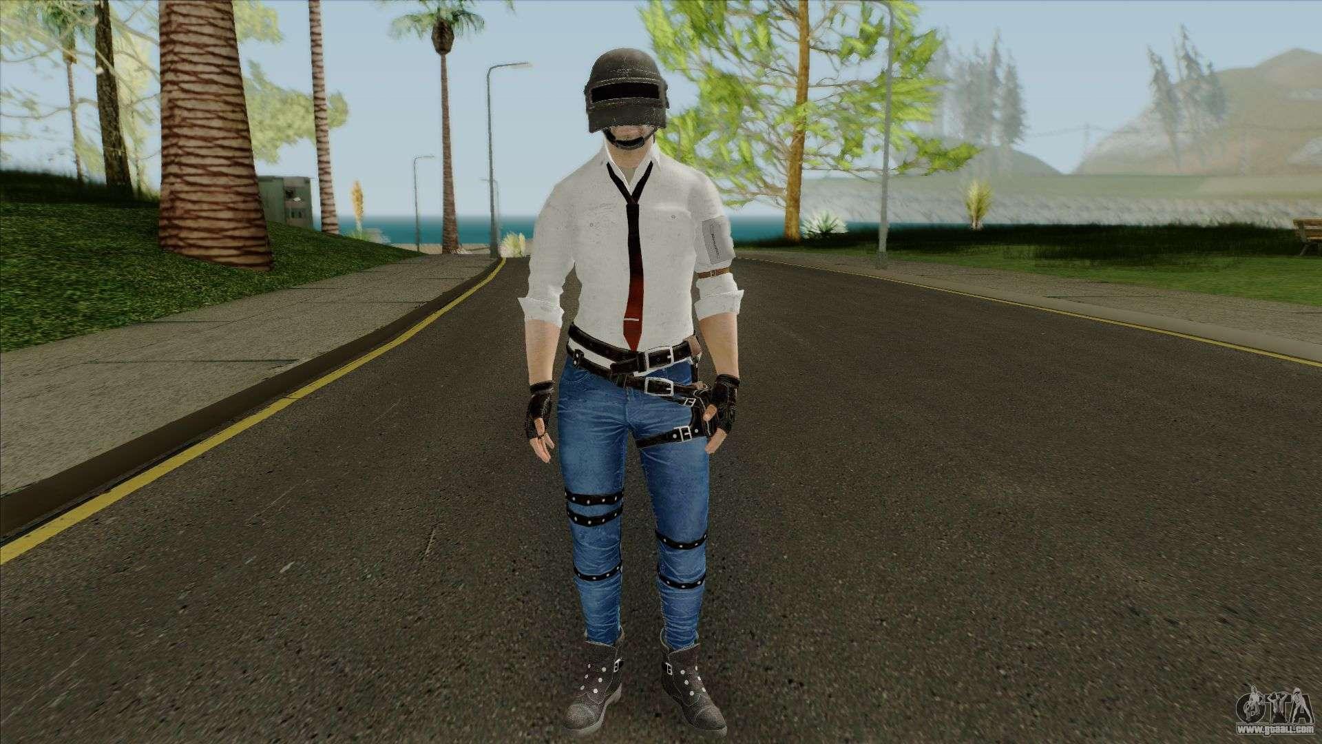 Character Pubg for GTA San Andreas