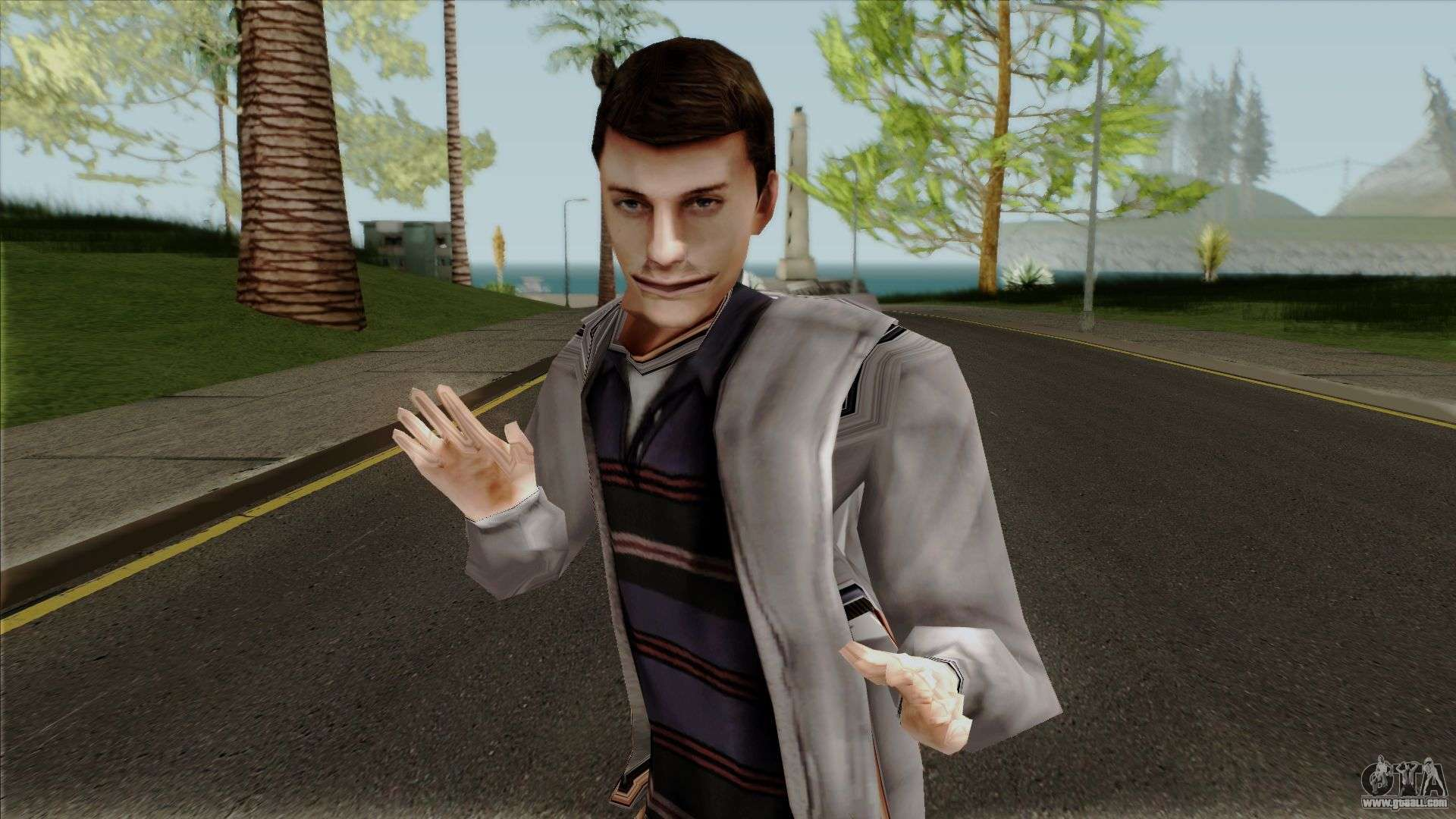Spider-Man The Game: Peter Parker for GTA San Andreas
