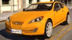 Hyundai Genesis Coupe for GTA 4