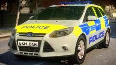 Police Ford Focus Estate IRV for GTA 4