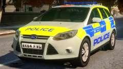 Police Ford Focus Estate IRV V.1 for GTA 4