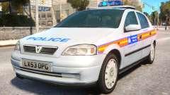 Met Police 2004 Astra Mk4 for GTA 4