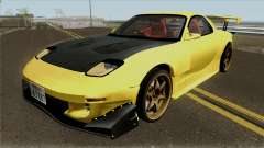 Initial D FD3S Takahashi Keisuke Fifth Stage for GTA San Andreas