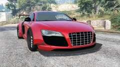 Audi R8 GT 2010 LibertyWalk [replace] for GTA 5