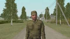 Soldier in Afghan for GTA San Andreas