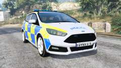 Ford Focus ST Turnier (DYB) Police [replace] for GTA 5