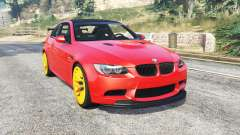 BMW M3 GTS (E92) 2010 red taillight [add-on] for GTA 5