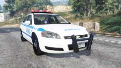 Chevrolet Impala 2007 NYPD v1.1 [replace] for GTA 5