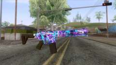 Gunrunning Carbine Mk.2 Revelations Camo v2 for GTA San Andreas