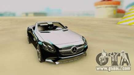 Mercedes-Benz SLC 300 for GTA San Andreas