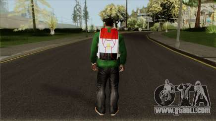New Egyptian Parachute for GTA San Andreas