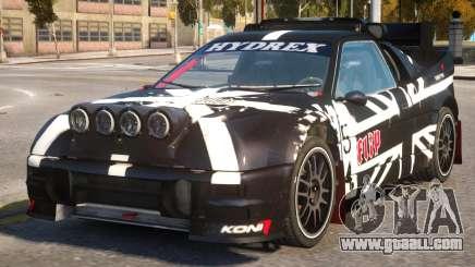 Ford RS200 Evolution Rallycross V.1 for GTA 4