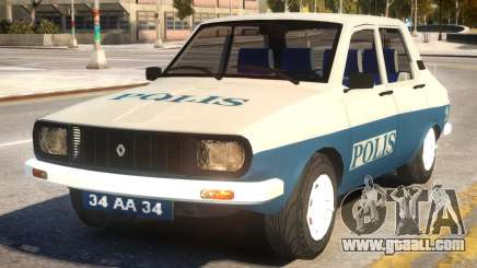 Renault 12 Police for GTA 4