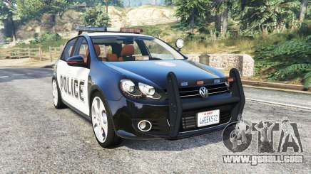 Volkswagen Golf (Typ 5K) LSPD v1.1 [replace] for GTA 5