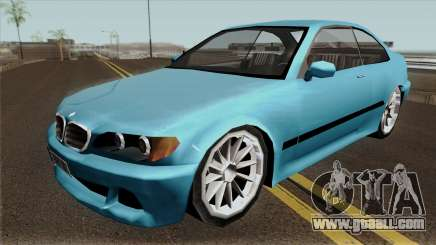 BMW E46 Low-Poly for GTA San Andreas
