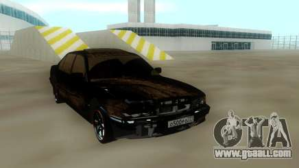 BMW 750 Damaged for GTA San Andreas